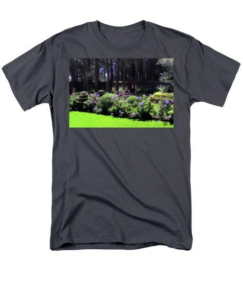 Desierto De Los Leones 1 Men's T-Shirt  (Regular Fit) by Ana Mireles