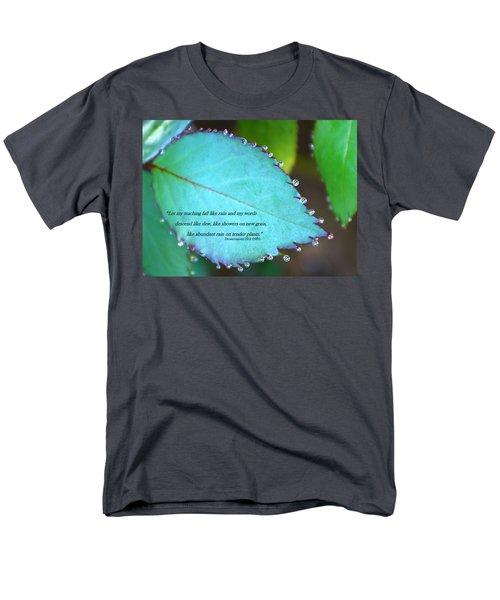 Dew Drops Men's T-Shirt  (Regular Fit)