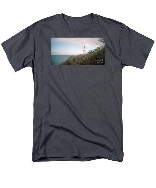 Diamond Head Light House Men's T-Shirt  (Regular Fit) by Ted Pollard