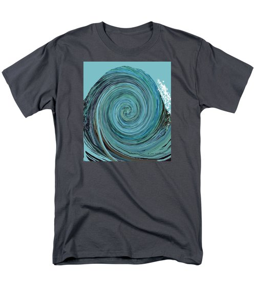 Digital Curl Men's T-Shirt  (Regular Fit) by Joan Hartenstein