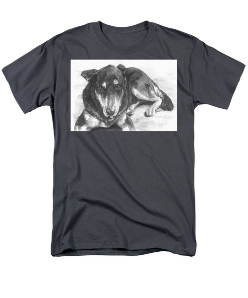 Men's T-Shirt  (Regular Fit) featuring the drawing Dillon by Meagan  Visser