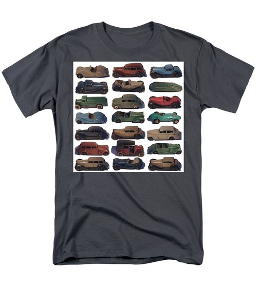 Dinky Car Park Men's T-Shirt  (Regular Fit) by John Colley