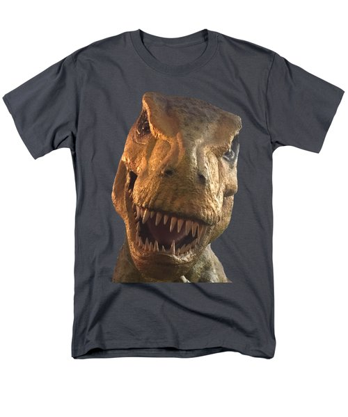Dino Hello Men's T-Shirt  (Regular Fit) by Charles Kraus