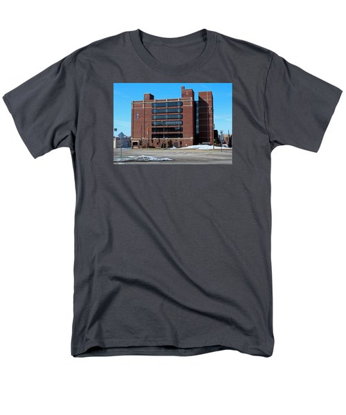 Men's T-Shirt  (Regular Fit) featuring the photograph Diocese Of Toledo In Winter by Michiale Schneider