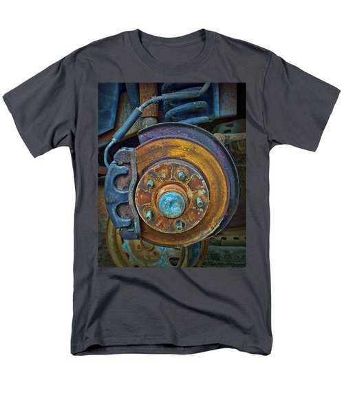 Disc Brake Assembly Men's T-Shirt  (Regular Fit) by Nikolyn McDonald