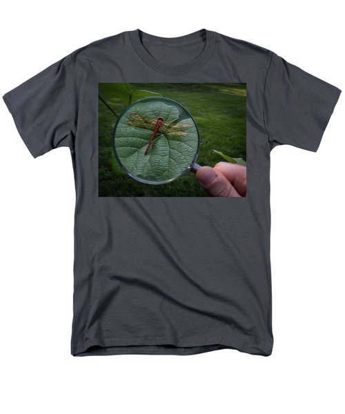Men's T-Shirt  (Regular Fit) featuring the photograph Discovery by Mark Fuller