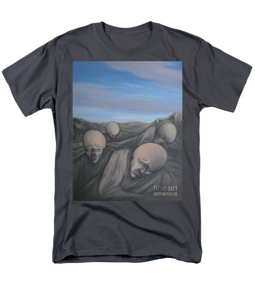 Men's T-Shirt  (Regular Fit) featuring the painting Dismay by Michael  TMAD Finney