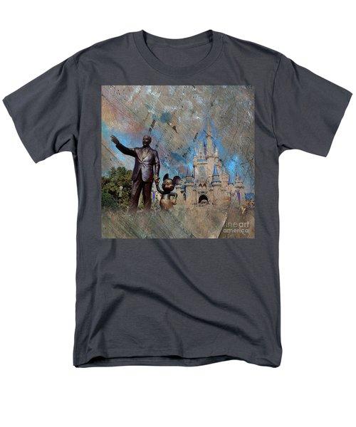 Disney World Men's T-Shirt  (Regular Fit) by Gull G