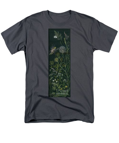 Men's T-Shirt  (Regular Fit) featuring the drawing Ditchweed Fairy Grasses by Dawn Fairies