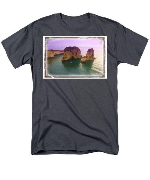 Do-00404 Grotte Aux Pigeons Men's T-Shirt  (Regular Fit) by Digital Oil