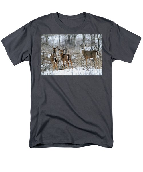 Does And Fawns Men's T-Shirt  (Regular Fit) by Brook Burling