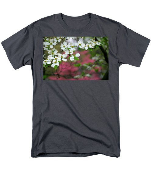 Dogwood Days Men's T-Shirt  (Regular Fit) by Living Color Photography Lorraine Lynch