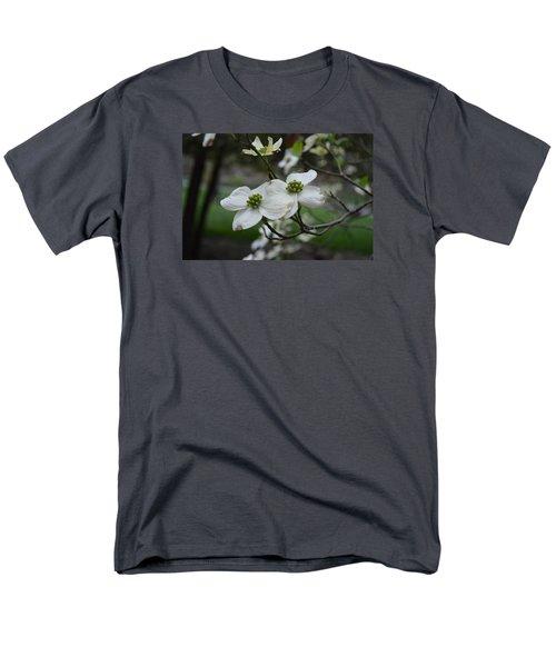 Men's T-Shirt  (Regular Fit) featuring the photograph Dogwood by Linda Geiger