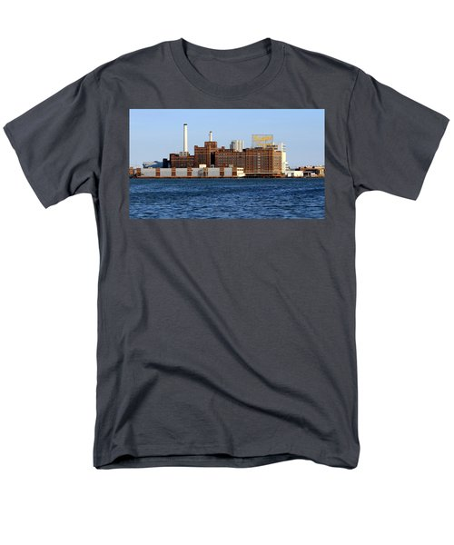 Domino Sugar Men's T-Shirt  (Regular Fit) by Joseph Skompski