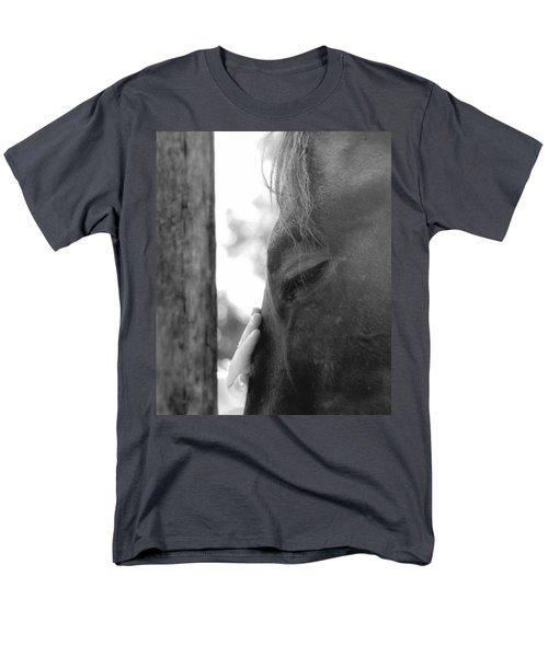 Don't Be Afraid Men's T-Shirt  (Regular Fit) by Donna Blackhall