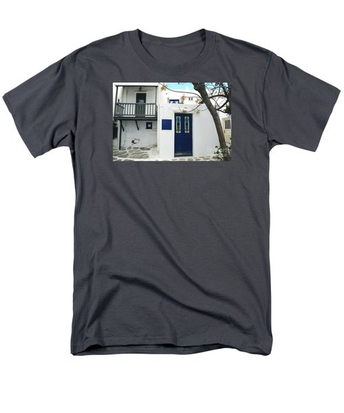 Men's T-Shirt  (Regular Fit) featuring the photograph Doors by Haleh Mahbod