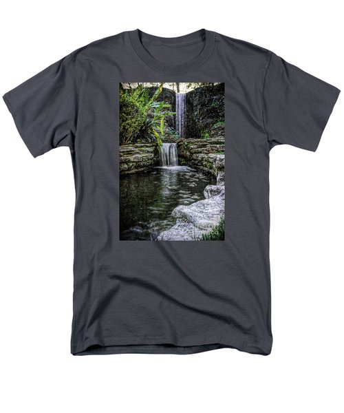 Men's T-Shirt  (Regular Fit) featuring the photograph Double Drop by Ken Frischkorn
