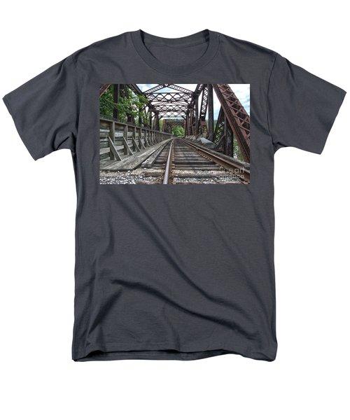 Double Truss Bridge #1679 On The Wmsr Men's T-Shirt  (Regular Fit)