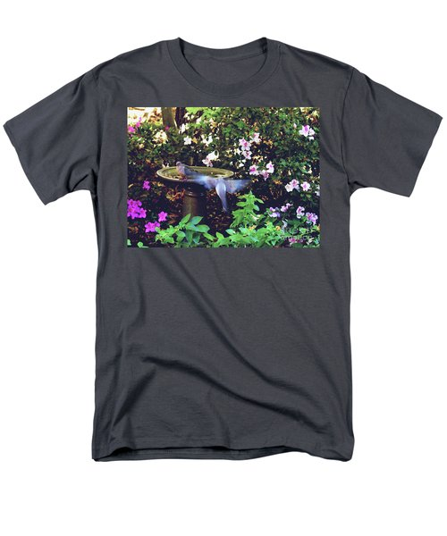 Dove In Flight Men's T-Shirt  (Regular Fit) by Debra Crank