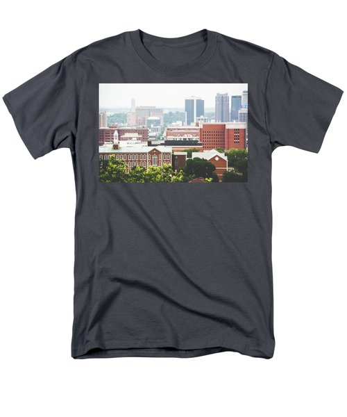 Men's T-Shirt  (Regular Fit) featuring the photograph Downtown Birmingham - The Magic City by Shelby Young