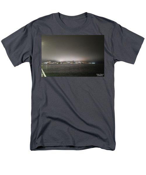 Downtown Oc Skyline Men's T-Shirt  (Regular Fit)