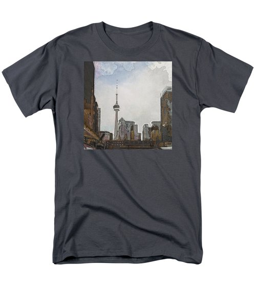 Downtown Toronto In Color Men's T-Shirt  (Regular Fit)