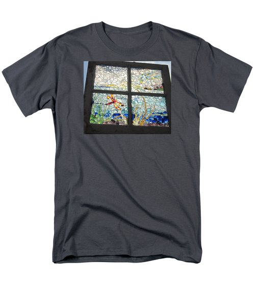 Dragonfly Dreams Men's T-Shirt  (Regular Fit) by Anne Marie Brown