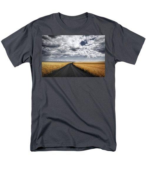 Drama On The Horse Heaven Hill Men's T-Shirt  (Regular Fit) by Lynn Hopwood