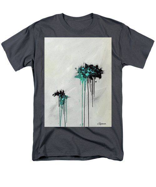 Men's T-Shirt  (Regular Fit) featuring the painting Dreamers by Carmen Guedez