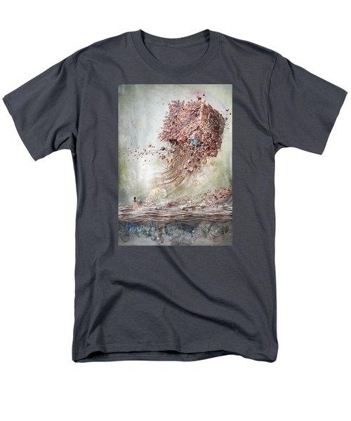 Dreamscape Flow No.1 Men's T-Shirt  (Regular Fit) by Te Hu