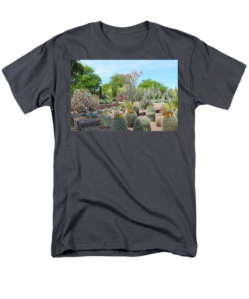 Dreamy Desert Cactus Men's T-Shirt  (Regular Fit) by Aimee L Maher Photography and Art Visit ALMGallerydotcom