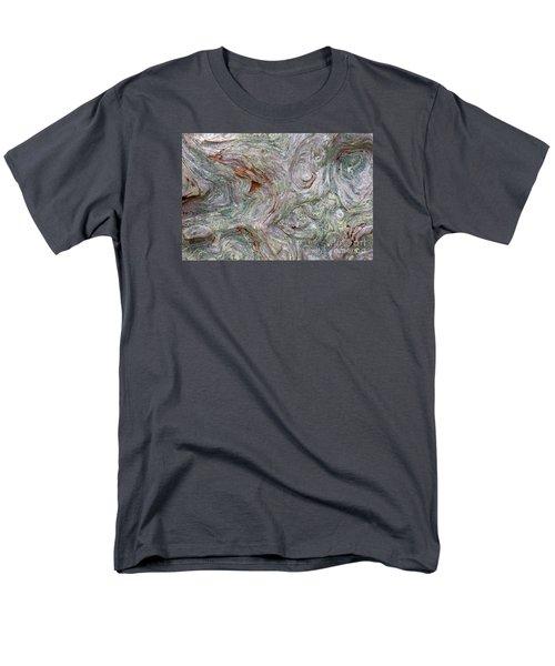 Driftwood Burl Men's T-Shirt  (Regular Fit) by Chuck Flewelling
