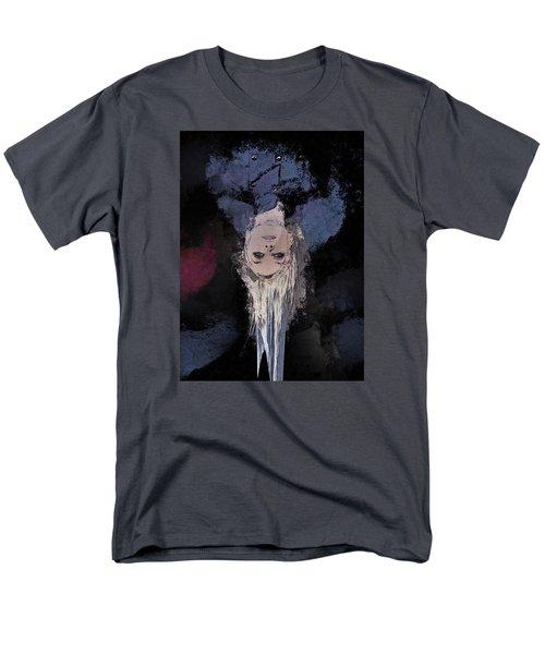 Men's T-Shirt  (Regular Fit) featuring the digital art Drip by Galen Valle