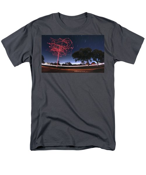 Drone Tree Men's T-Shirt  (Regular Fit) by Andrew Nourse