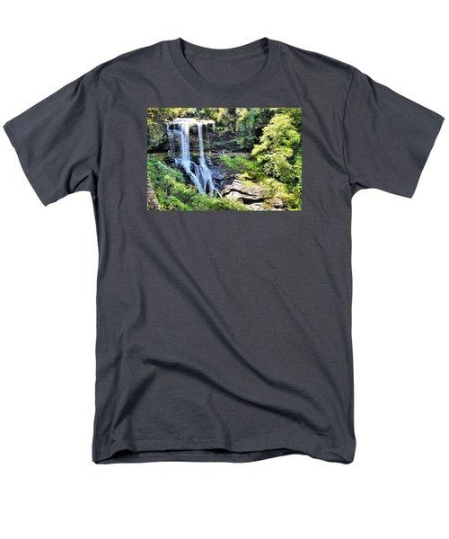 Dry Falls Of Appalachia Men's T-Shirt  (Regular Fit) by James Potts