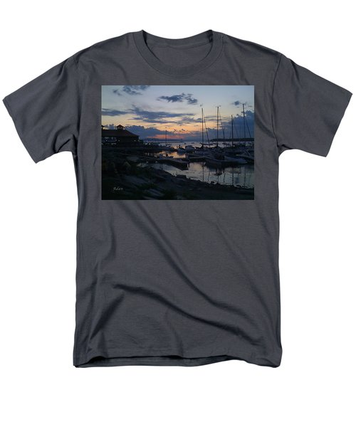 Men's T-Shirt  (Regular Fit) featuring the photograph Dusk Begins To Sleep by Felipe Adan Lerma