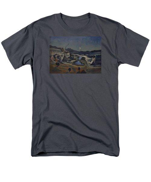 Dusk Over The Sint Pietersberg Men's T-Shirt  (Regular Fit)