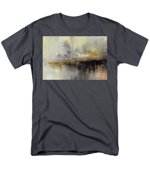 Men's T-Shirt  (Regular Fit) featuring the painting Dusty Mirage by Tatiana Iliina