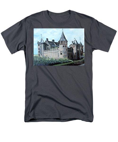 Dutch Castle In Muiden Men's T-Shirt  (Regular Fit) by Francine Heykoop