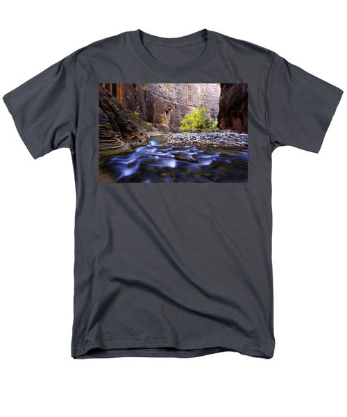 Men's T-Shirt  (Regular Fit) featuring the photograph Dynamic Zion by Chad Dutson