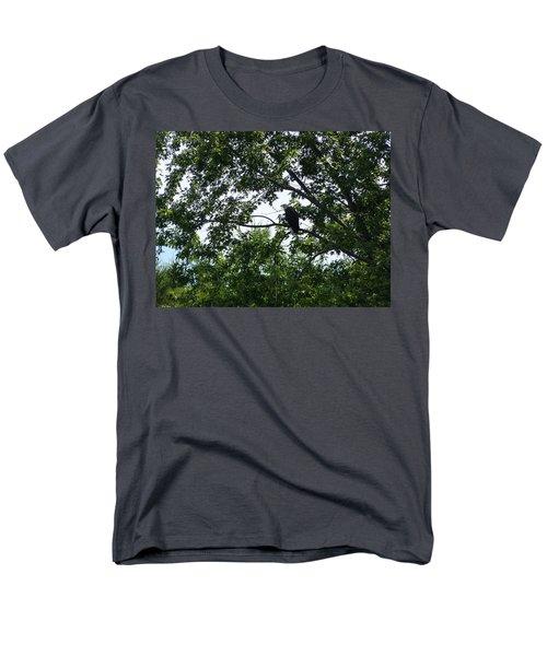 Eagle At Codorus Men's T-Shirt  (Regular Fit) by Donald C Morgan