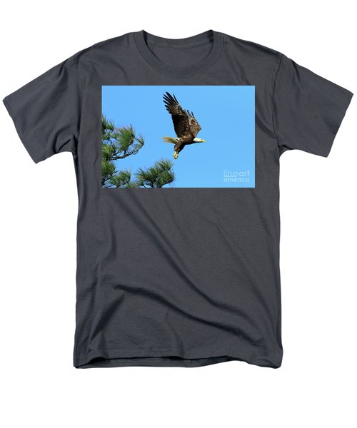 Men's T-Shirt  (Regular Fit) featuring the photograph Eagle Series 1 2017 by Deborah Benoit