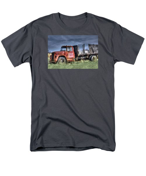 Men's T-Shirt  (Regular Fit) featuring the photograph Earl Latsha Lumber Company Version 2  by Shelley Neff