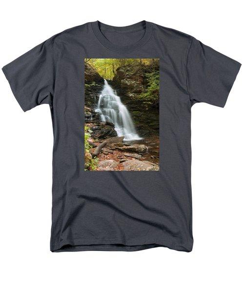 Early Autumn Morning Below Ozone Falls Men's T-Shirt  (Regular Fit)