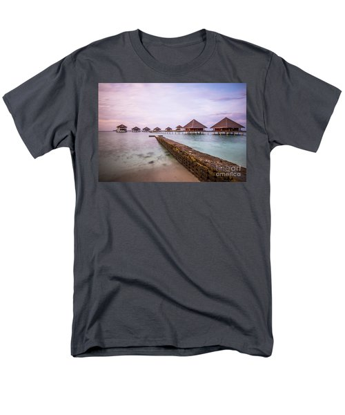 Men's T-Shirt  (Regular Fit) featuring the photograph Early In The Morning by Hannes Cmarits