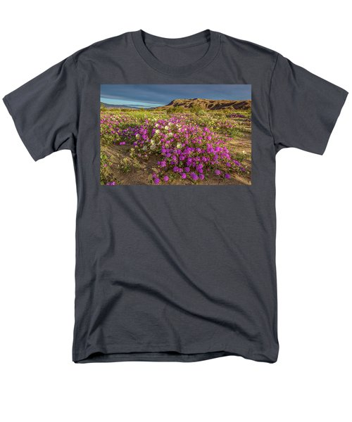 Men's T-Shirt  (Regular Fit) featuring the photograph Early Morning Light Super Bloom by Peter Tellone