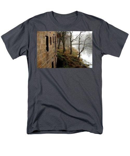 Early Morning Mist  Men's T-Shirt  (Regular Fit) by Paula Guttilla