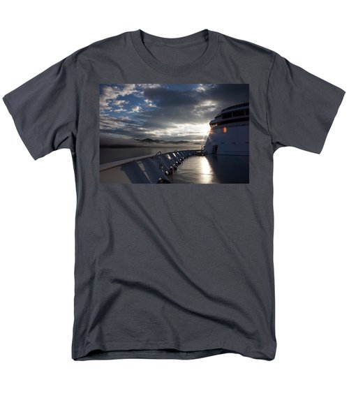 Early Morning Travel To Alaska Men's T-Shirt  (Regular Fit) by Yvette Van Teeffelen