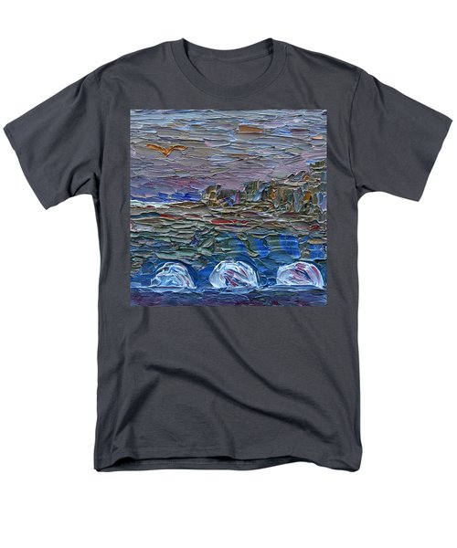 Early Winter In New Jersey Men's T-Shirt  (Regular Fit) by Vadim Levin