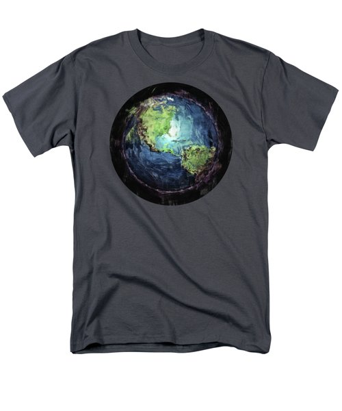 Earth And Space Men's T-Shirt  (Regular Fit) by Phil Perkins